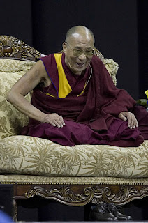 His Holiness the Dalai Lama speaking at the Kohl Center, University of Wisconsin, May 4, 2007