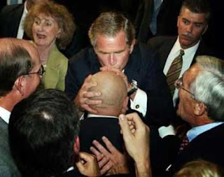 Bush kissing male prostitute and fake journalist Jeff Gannon