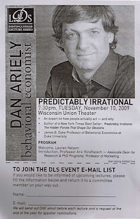 Dan Ariely, behavioral economist