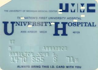 University Hospital ID