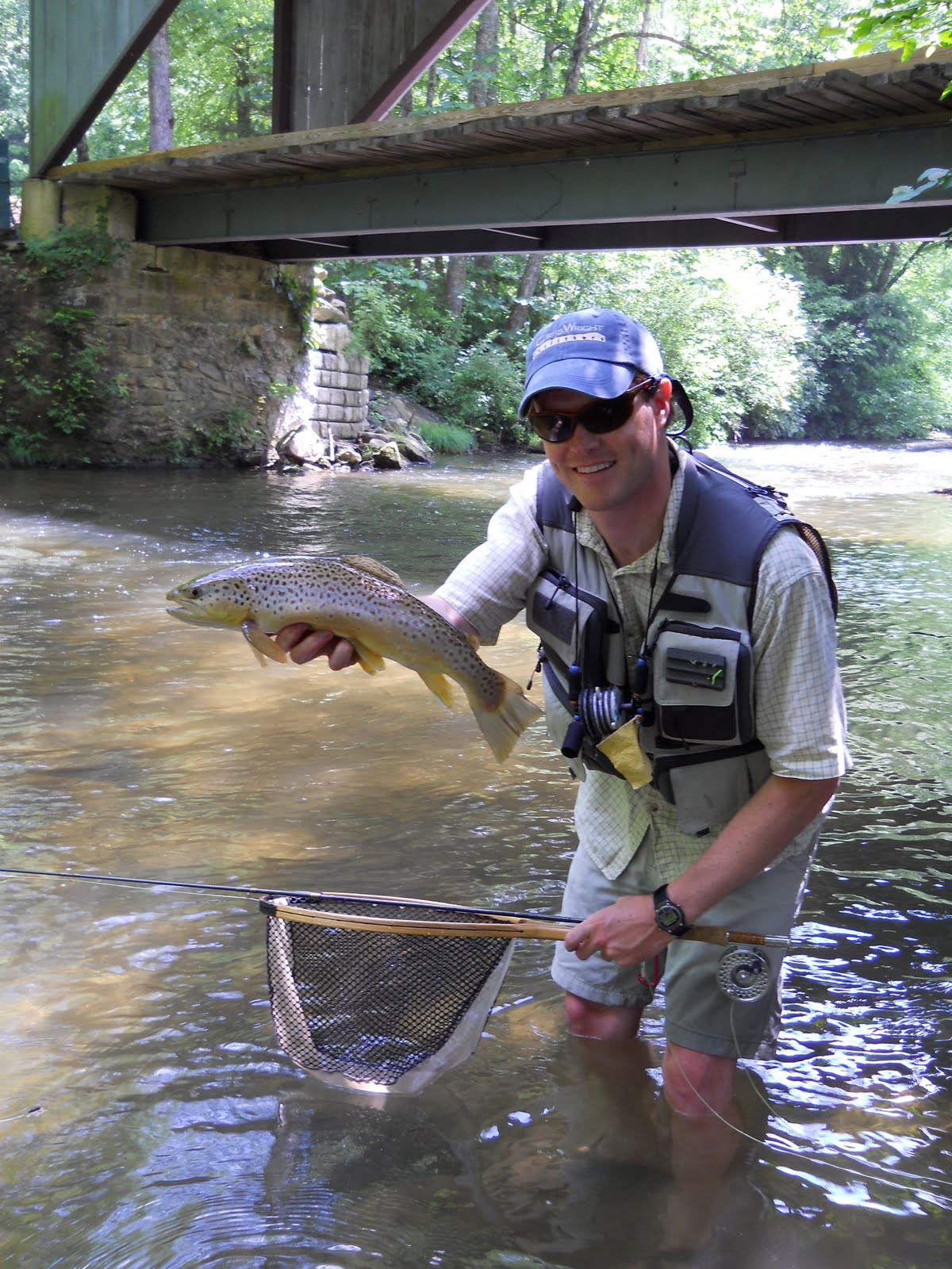 Brown trout fly fishing green river fly fishing 5 27 for River fly fishing
