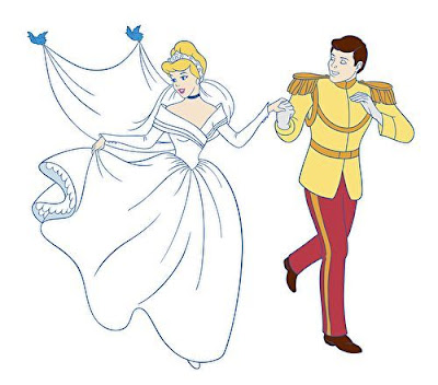 Disney Wedding Clip Art