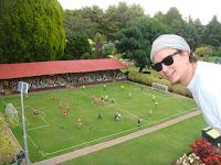 Cockington Green football (soccer) pitch