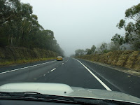 on the road fog