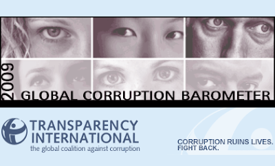 Transparency International's 2009 Global Corruption Barometer Survey