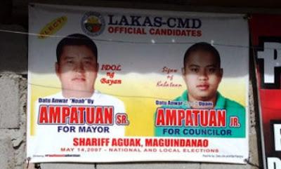 Ampatuan Candidates