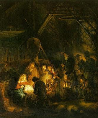 Nativity-Rembrandt
