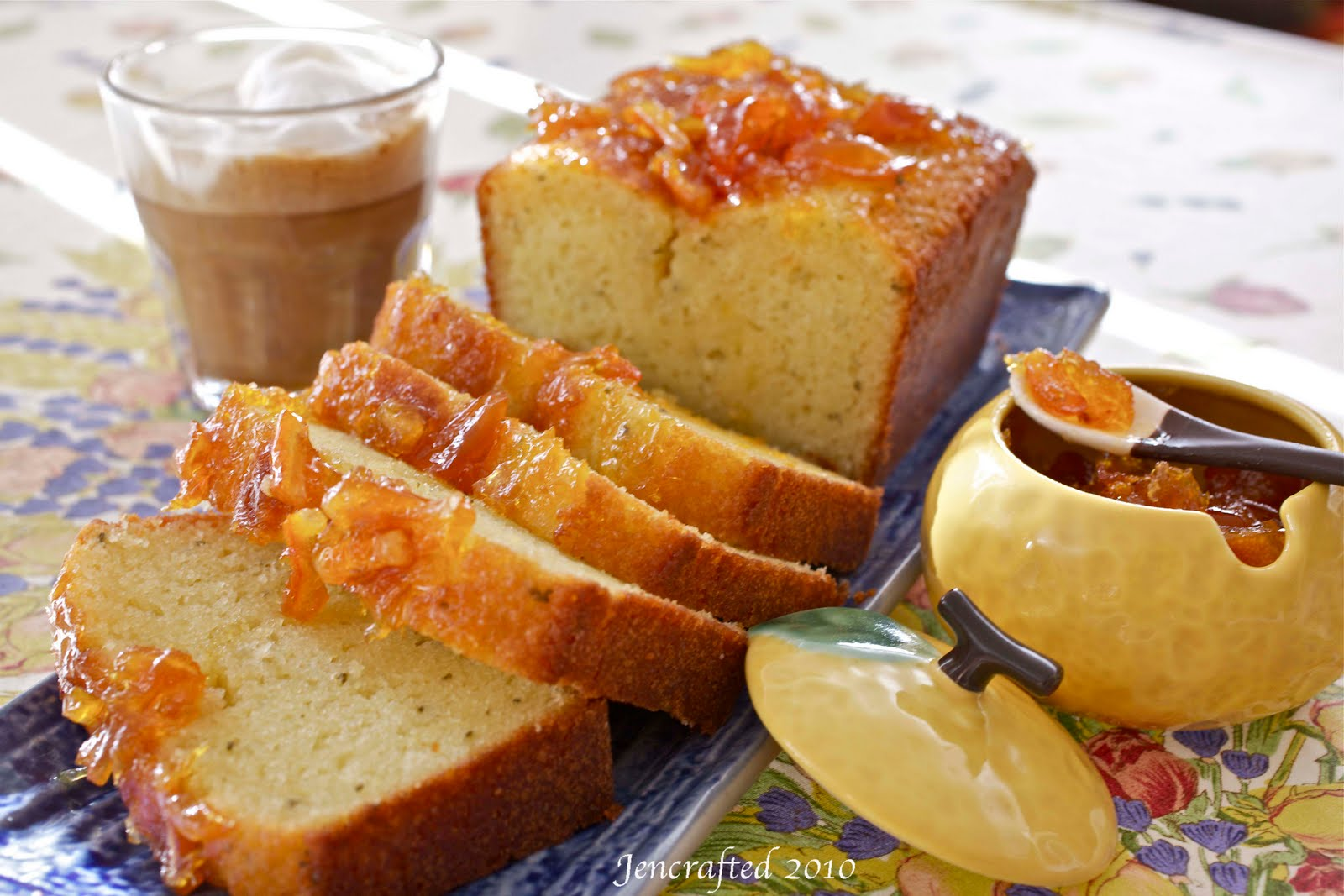 ... BAKE: Bake #14: Jenny Bakes French Yogurt Cake with Orange Marmalade