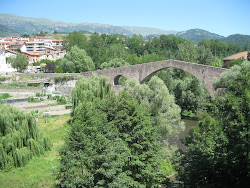 12th Century Pont Vell Over Rio Ter
