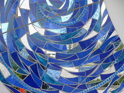 Blue Mirror Mosaic