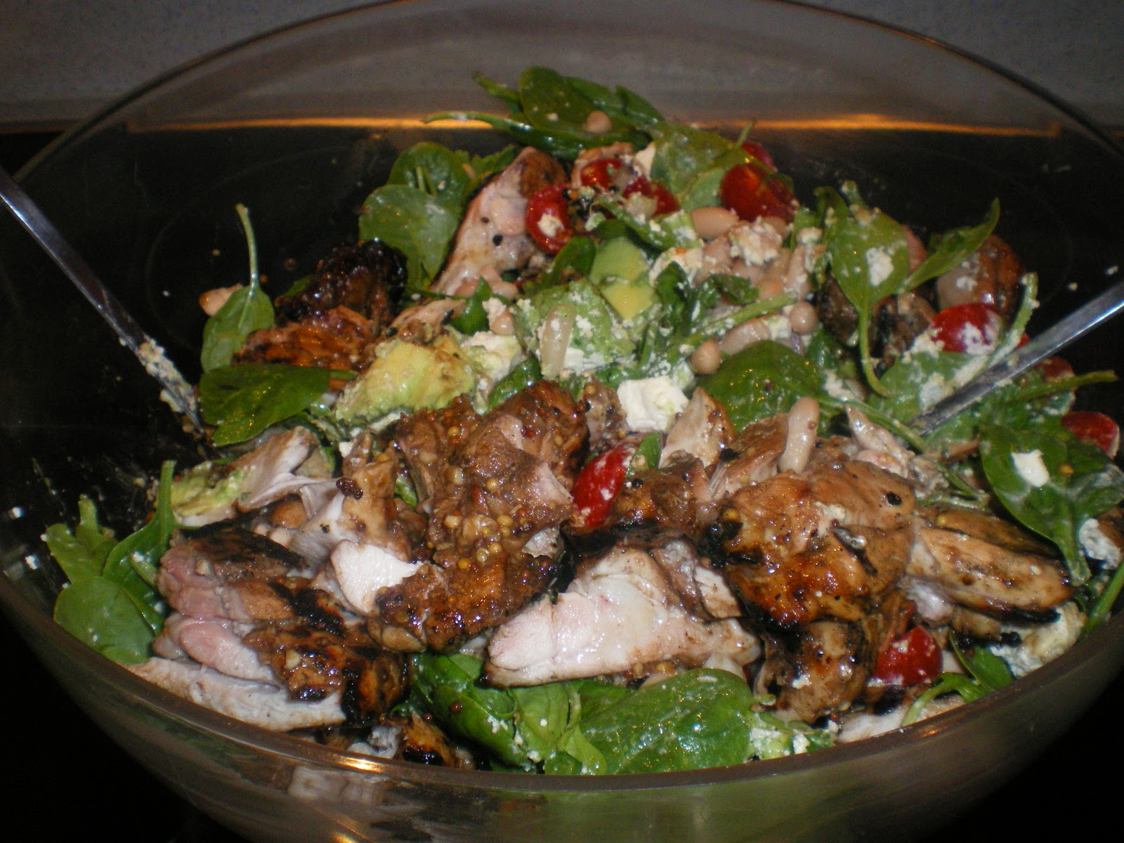 Cate Can Cook, So Can You!!: Balsamic Chicken and White Bean Salad