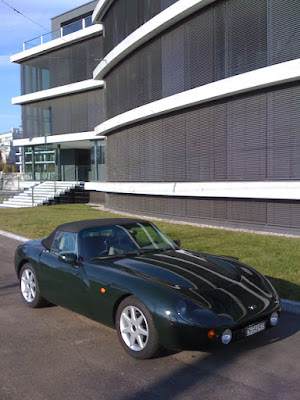 The Driving Philosopher The Tvr Griffith 500 A Car Worth Being
