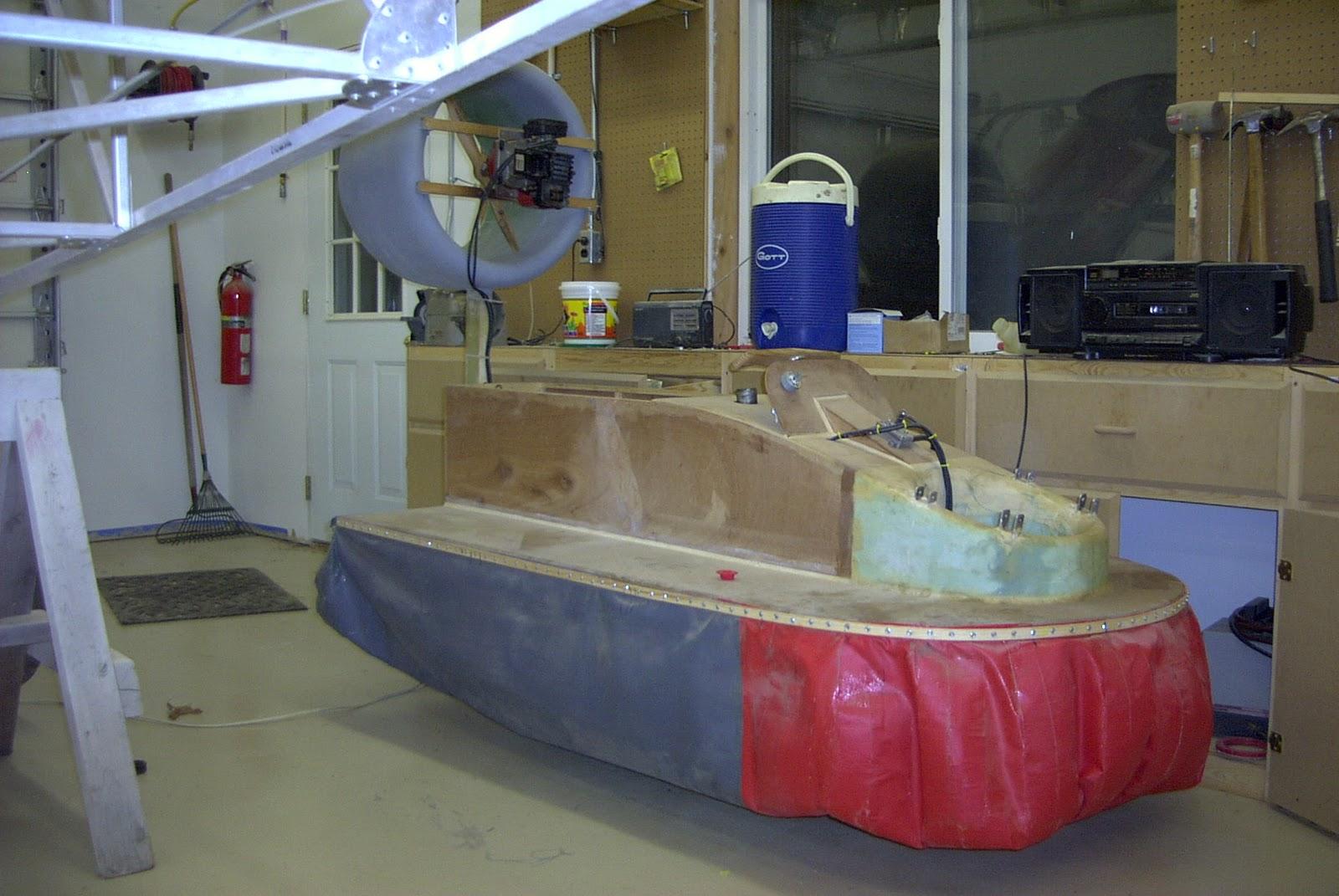 how to make a hovercraft skirt