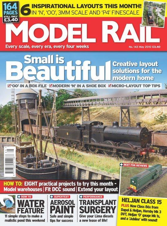 Model rail magazine november 2014