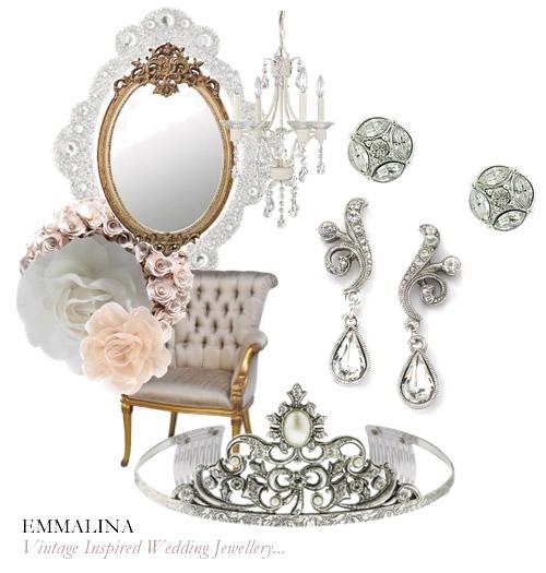 Vintage Inspired Wedding Jewellery..... | Emmalina - Vintage ...