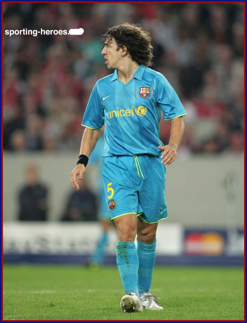 sukin blog Carles Puyol the defender football of Spain