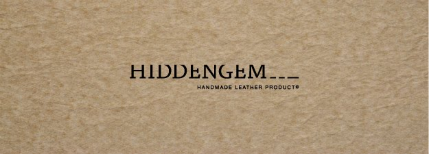 HIDDENGEM- 手縫皮革 hand stitched leather products