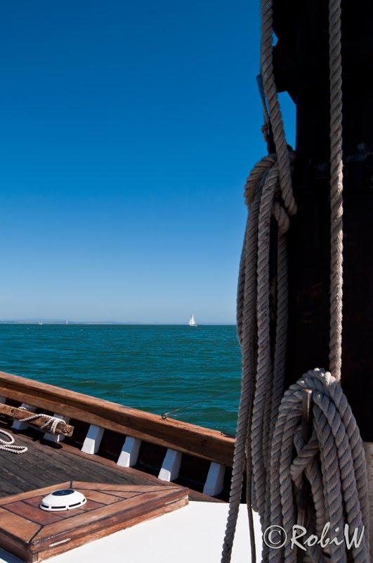 I'm sailing