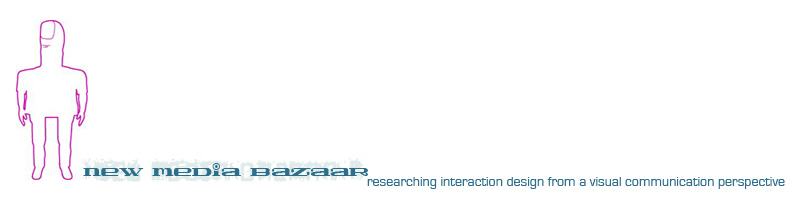 New Media Bazaar :: researching interaction design from a visual communication perspective