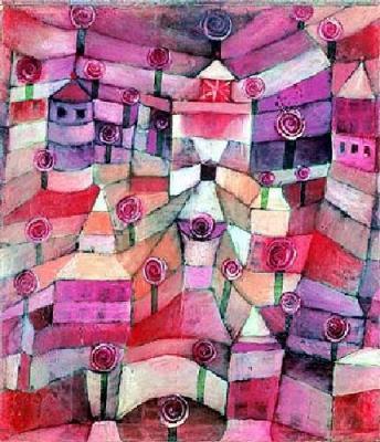 Jardín Rosa de Paul Klee