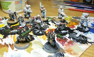 Necromunda Orlock Gang Work in Progress