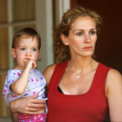 Erin is played by Julia Roberts
