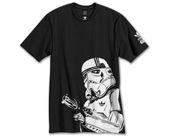 Camisas e tenis Star Wars e Adidas