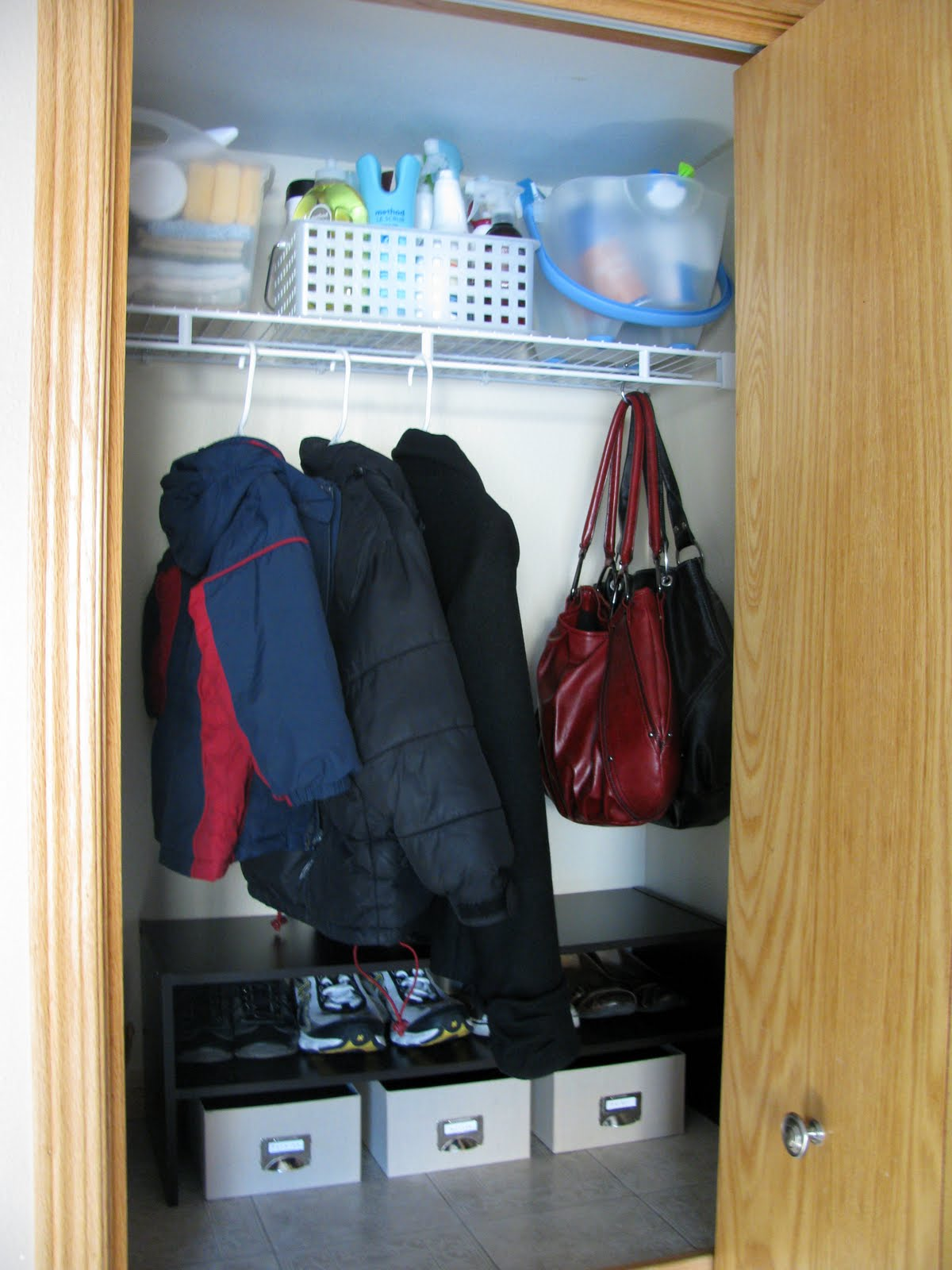 on the room coat living ideas organization small budget stairs watch under before youtube a closet after