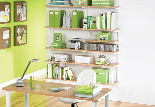 Iheart organizing january featured space home office general tips tricks - Container store home office ...
