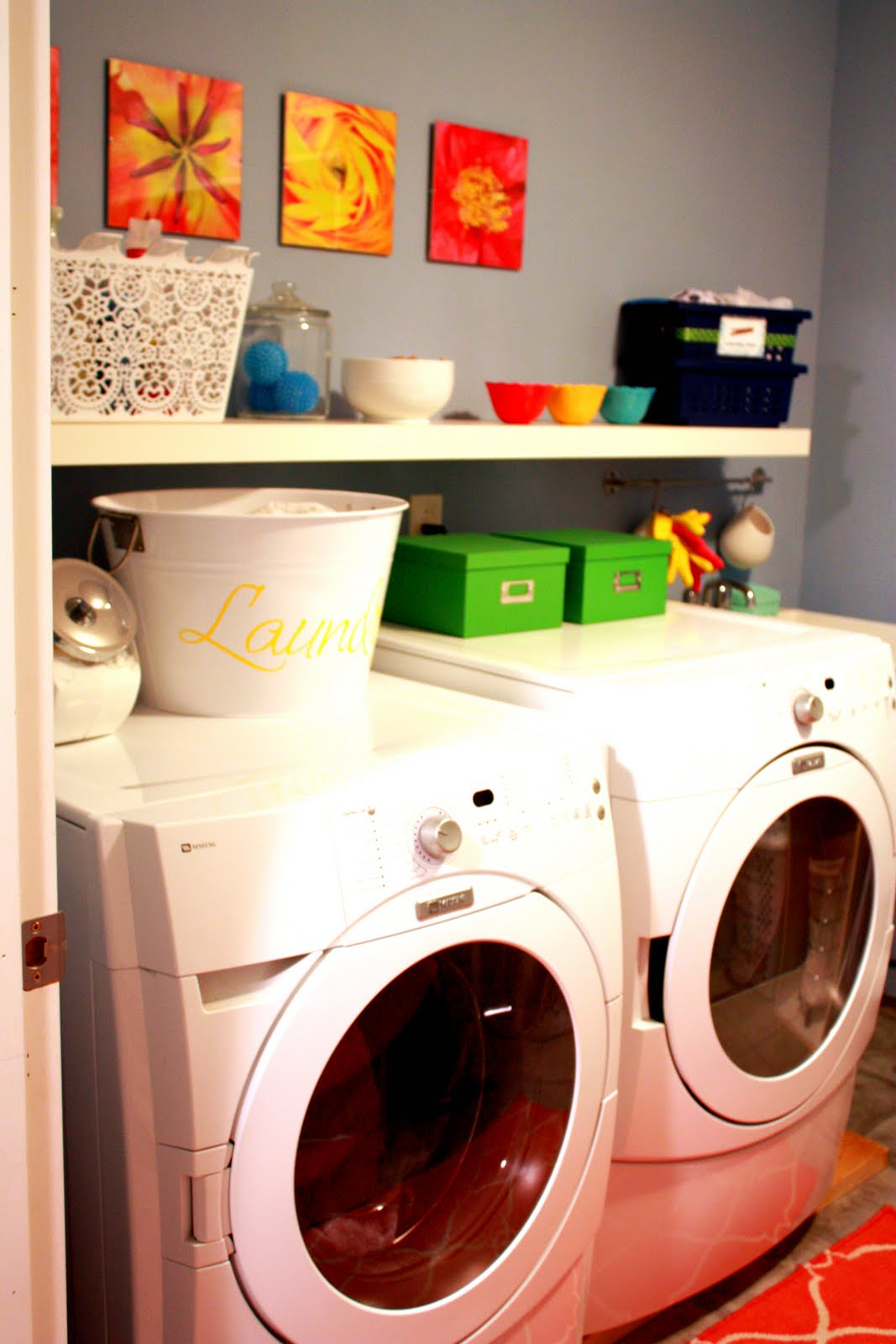 IHeart Organizing: June Featured Space: Laundry Room - Containing ...