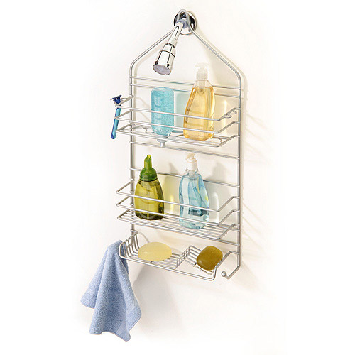 IHeart Organizing: July Featured Space: Bathroom - Shower Storage