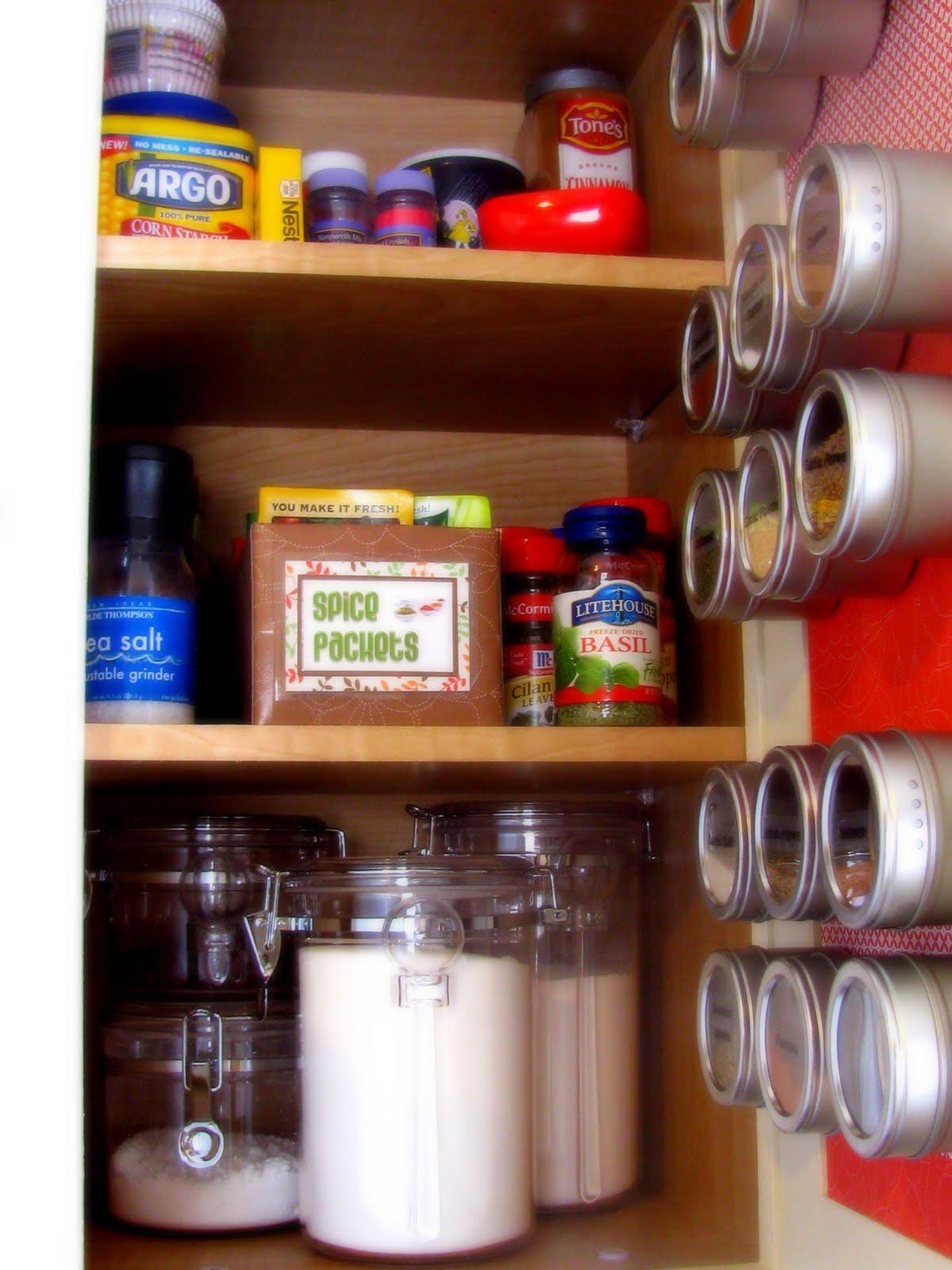 Magnetic Spice Door Cabinet
