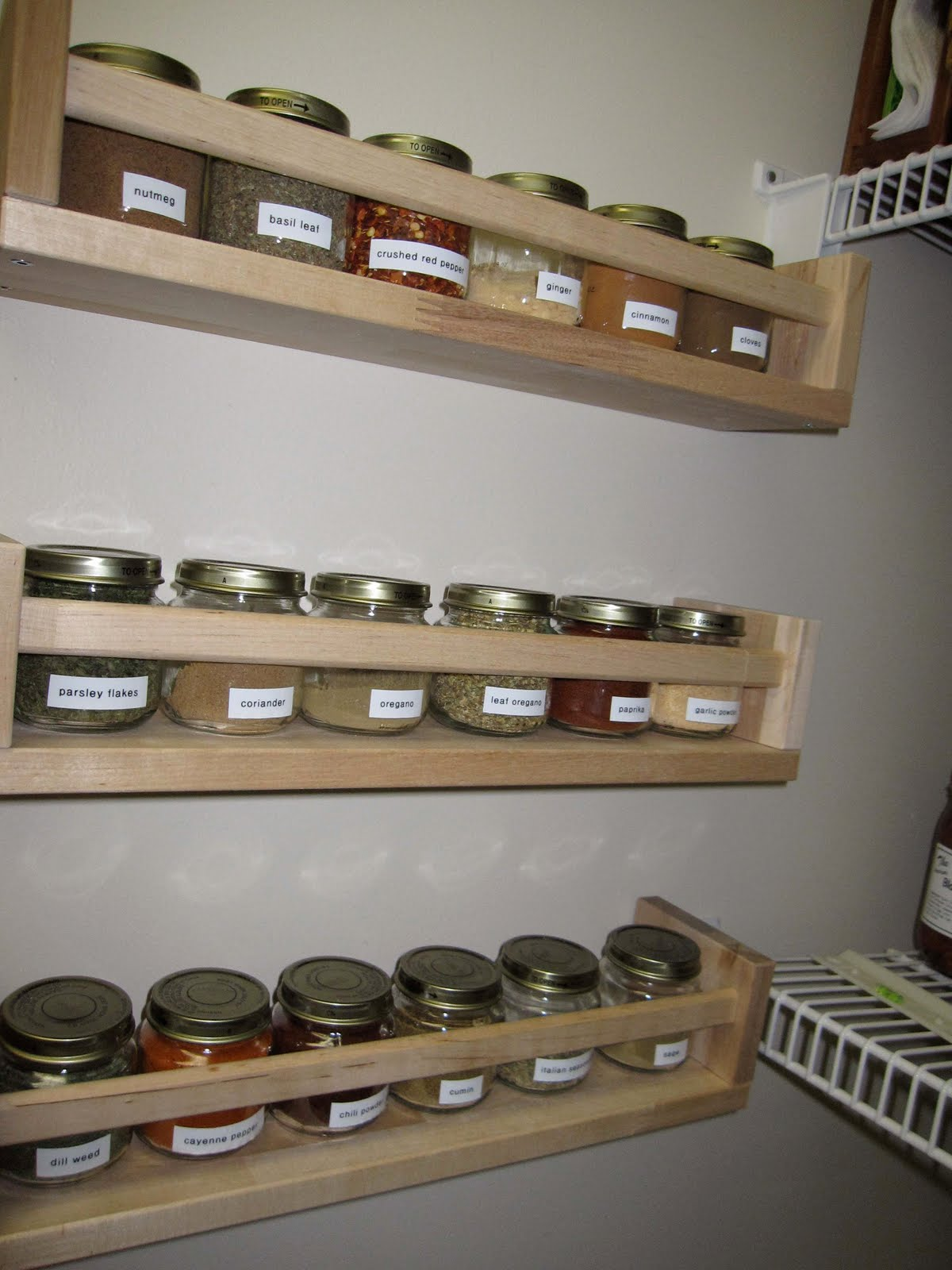Baby Food Spice Rack