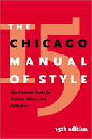 Chicago Manual of Style, 15th edition