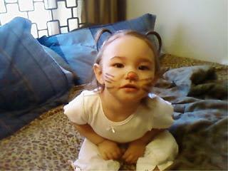 Ana, the Halloween kitty