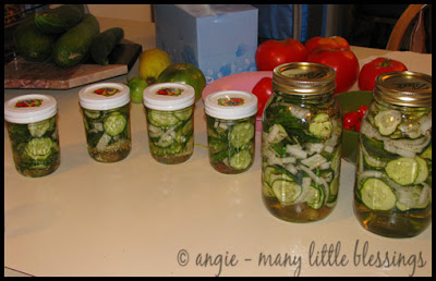 delicious bread and butter pickles