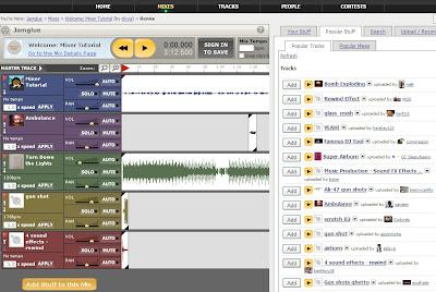 mezclar musica online gratis sin descargar