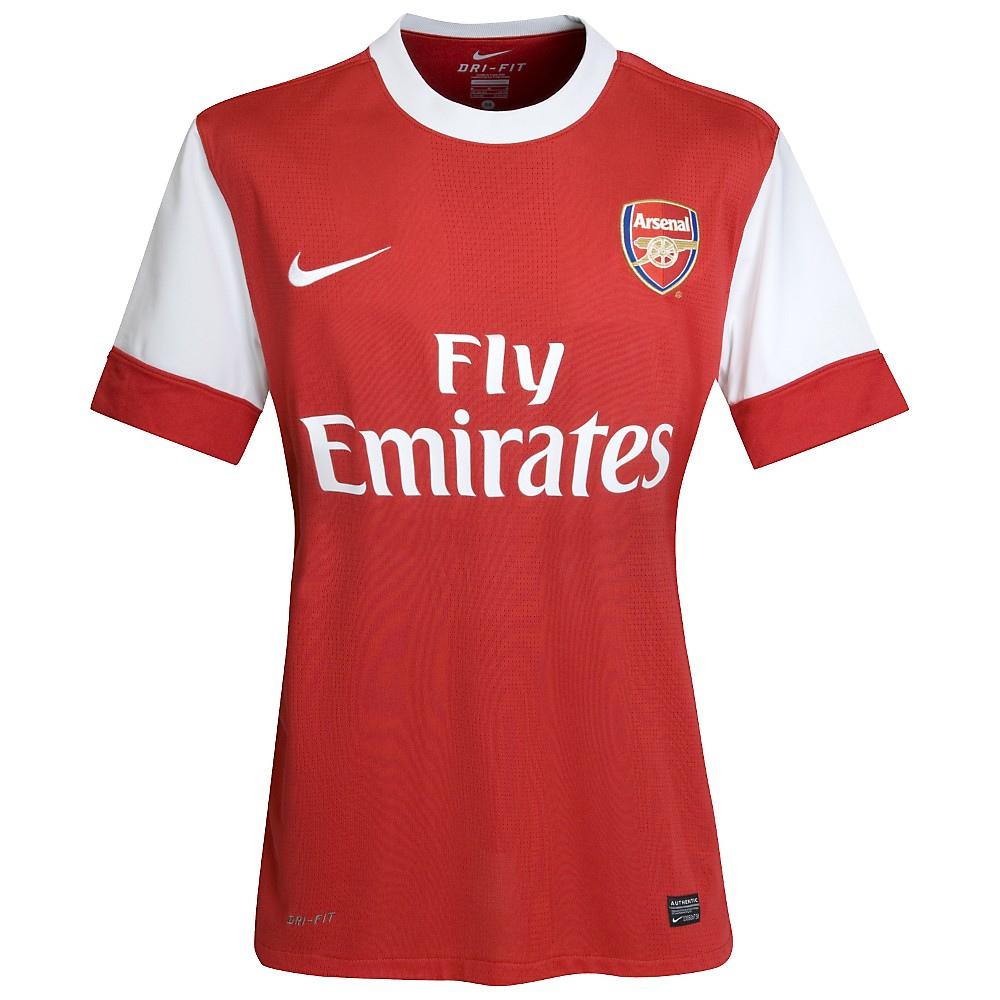 Nueva camiseta del Arsenal FC 2011/2012