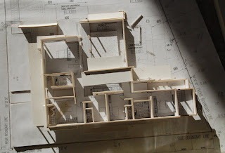 lines on paper architectural models