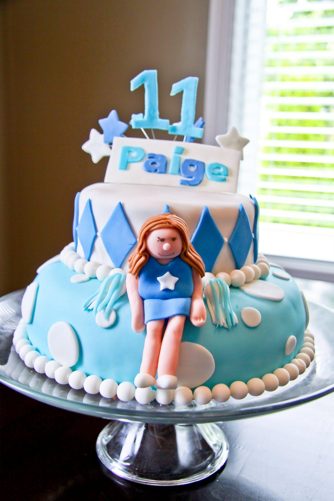 Cakes By Krista Sidhu Cheerleading Birthday Cake