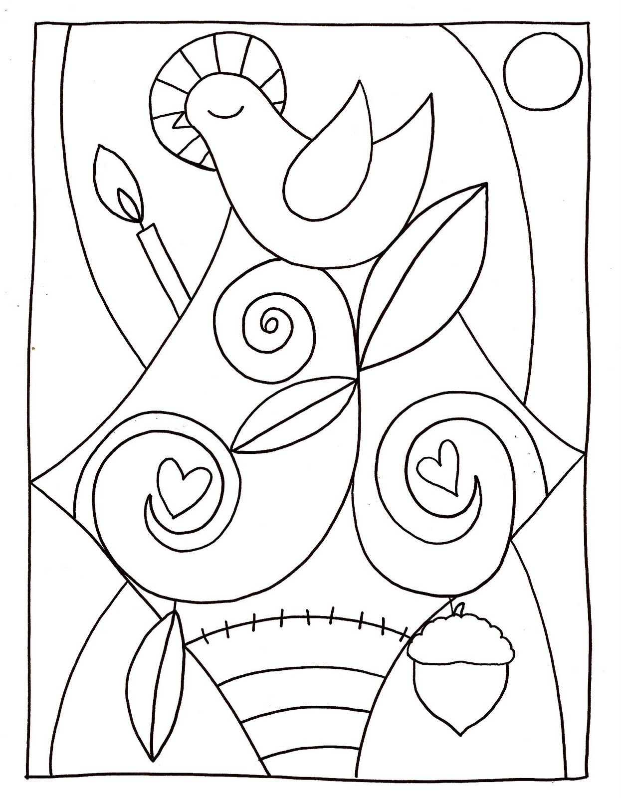 love god coloring pages - photo#34