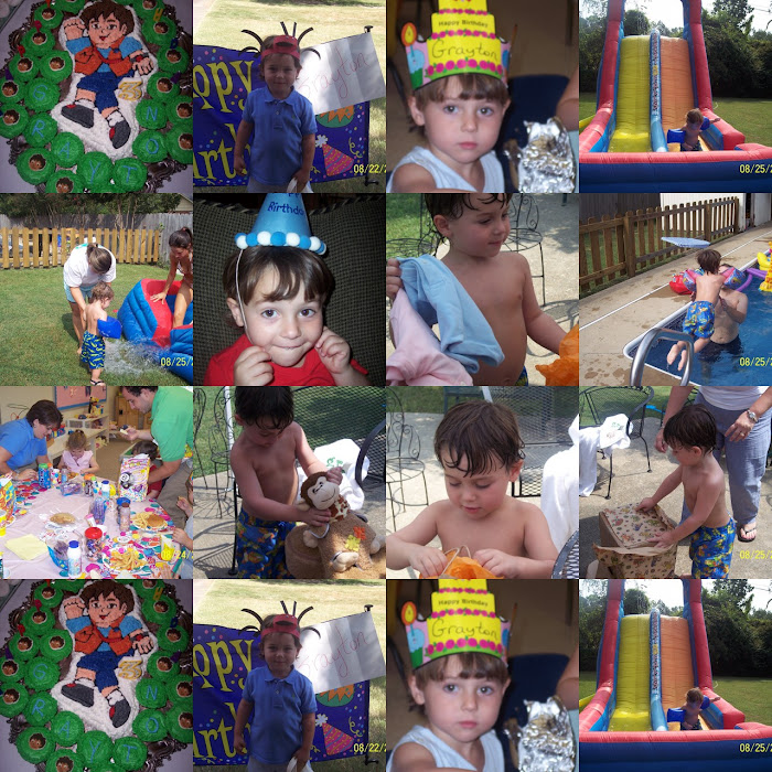 HAPPY 3RD BIRTHDAY, GRAYTON!  August 20, 2007