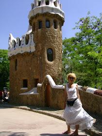 in parcul Guel, Barcelona