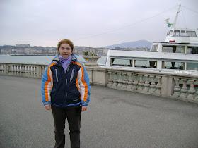 in stralucitoarea Geneve, pe malul lacului Geneva
