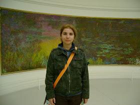la muzeul Orangerie din Paris