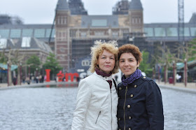 Alexandra si Adina la Amsterdam