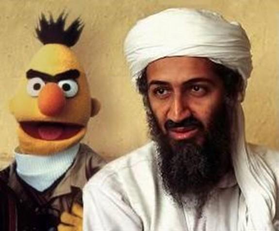 against Osama Bin Laden. Osama bin Laden is dead.