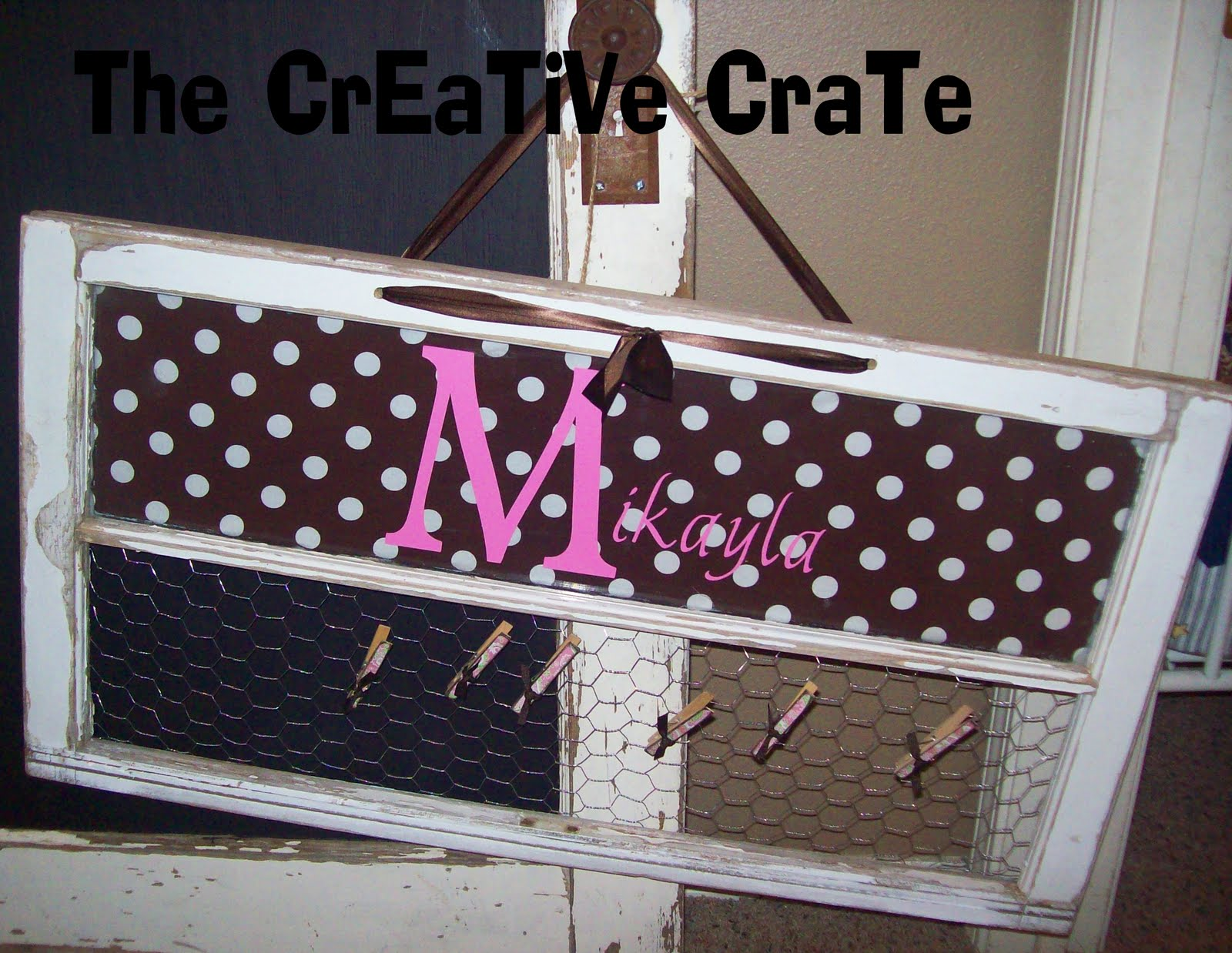 The creative crate old window gift idea for Creative crates