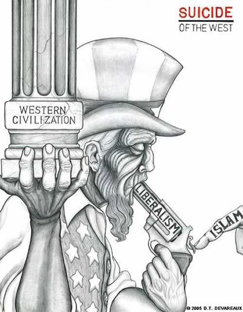 The Steady Drip The Death Of Western Civization By Suicide