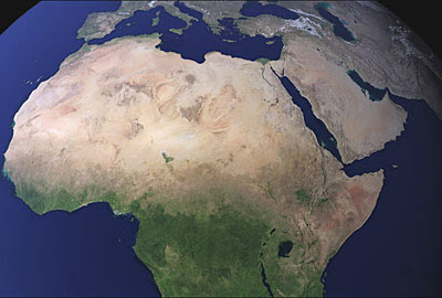 Our path miracles of allah this image have been varified with several other images of africa from nasa website and all of them without cloud covers show the name of allah clearly thecheapjerseys Choice Image